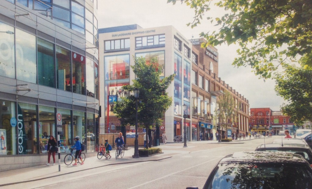 Revamp of Dun Laoghaire Shopping Centre