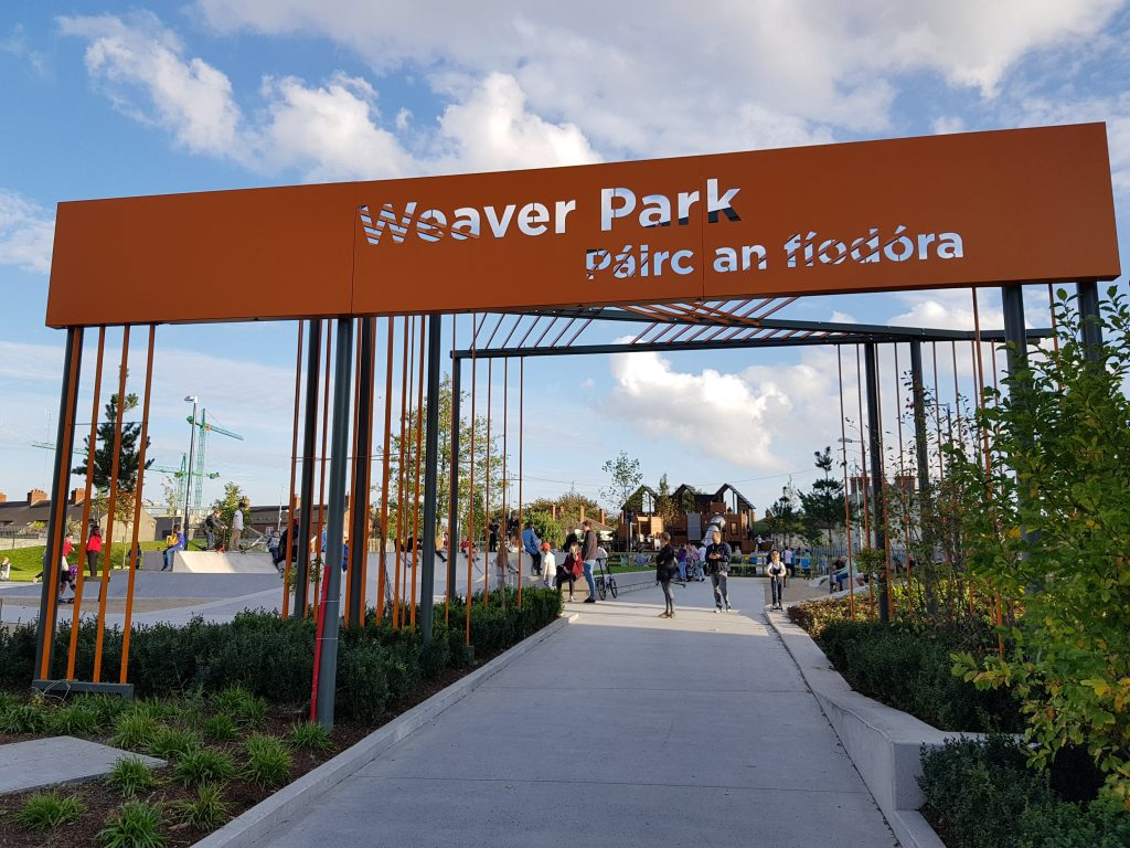 Weaver Park Opens