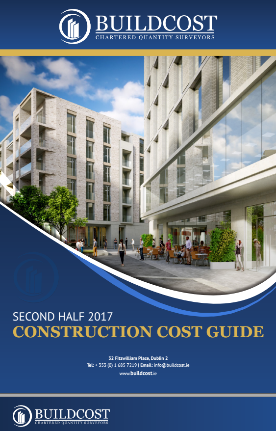 Construction Cost Data Guide 2nd Half 2017