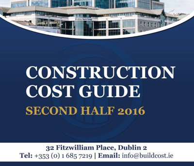 Construction Cost Data Guide 2nd Half 2016